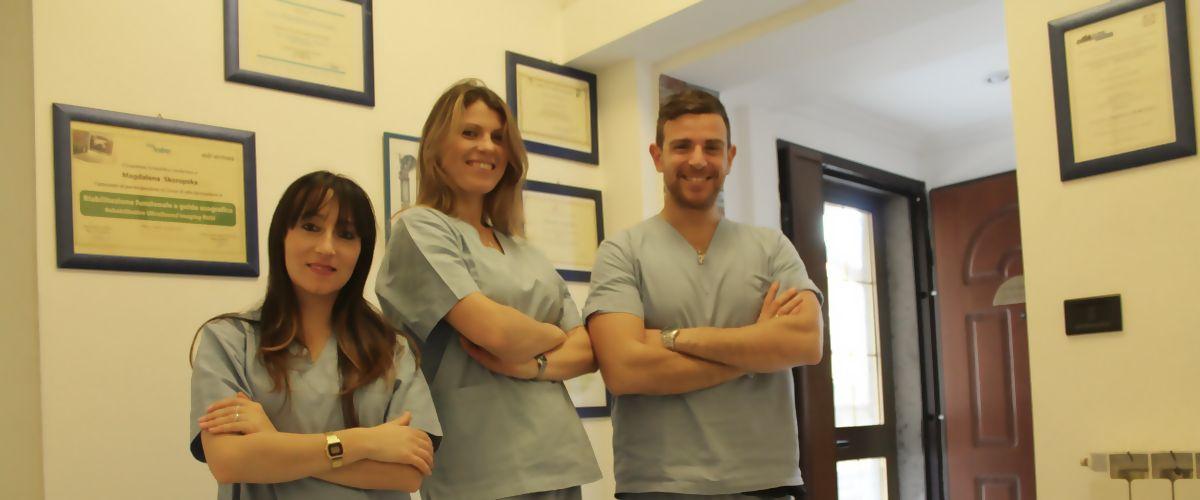 Lo staff medico dei nostri podologi a Fiumicino