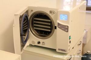 Autoclave sterilizzazione strumenti podologo