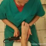Trattamento riabilitativo ad ultrasuoni