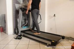 Camminata per controllo della postura sul baropodometro