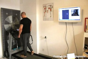 Controllo postura con esame baropodometrico